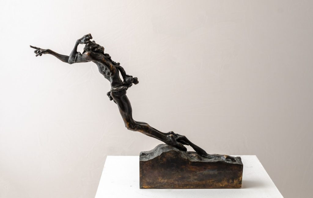 contemporary bronze sculptures