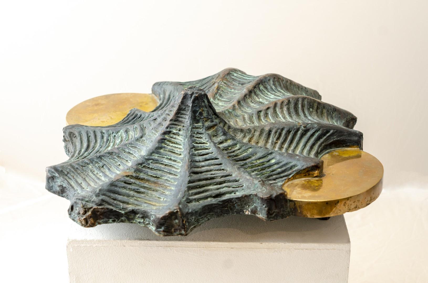 abstract bronze sculptures