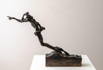 contemporary bronze sculptures